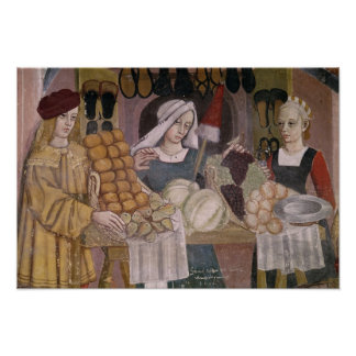 The Fruit Sellers' Stand Poster