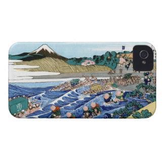 The Fuji from Kanaya on the Tokaido Hokusai iPhone 4 Cover