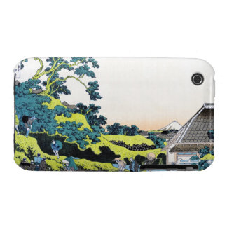 The Fuji seen from the Mishima pass Hokusai Case-Mate iPhone 3 Cases