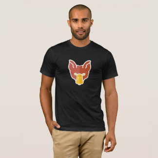 The Full Face DuckFox on Dark T-Shirt