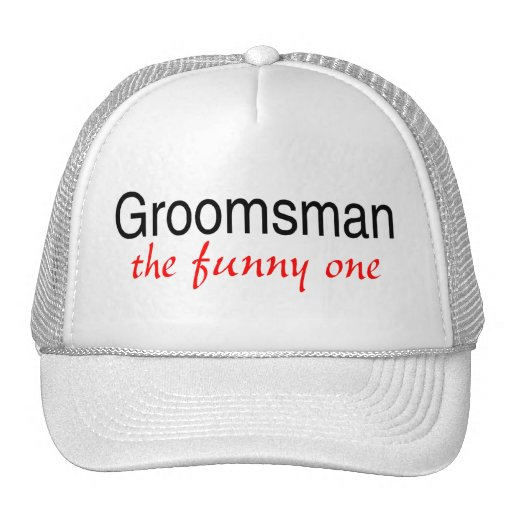 The Funny One (Groomsman) Mesh Hats