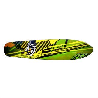 The Fuse Is Lit - Graffiti Sk8 Art Custom Skate Board