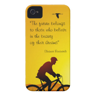The future belongs to those who believe Roosevelt iPhone 4 Case-Mate Case