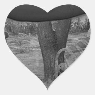The Future Heart Sticker