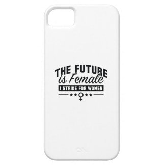 The Future Is Female iPhone 5 Cases