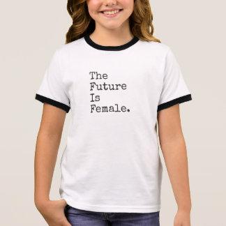 The Future Is Female Kids Tee