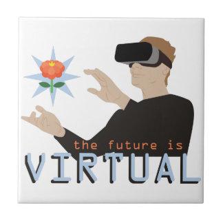The Future Is Virtual Ceramic Tile