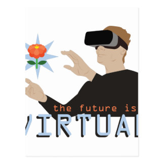 The Future Is Virtual Postcard