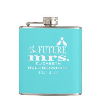 The Future Mrs.-Brides Flask