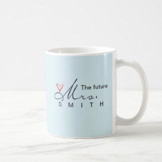 The future Mrs.  - customize your own! Coffee Mug