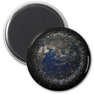 The Future of Earth 6 Cm Round Magnet