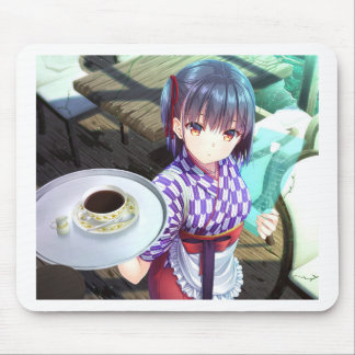 The Future Of Maid Cafe : Irasshaimase! Mouse Pad