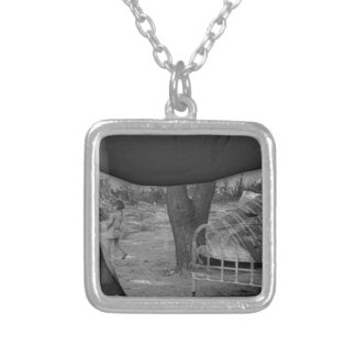 The Future Silver Plated Necklace