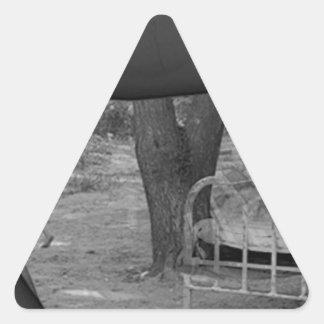The Future Triangle Sticker
