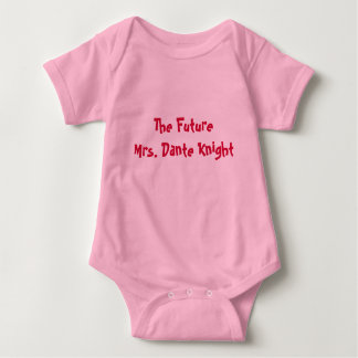 The FutureMrs. Dante Knight Baby Bodysuit