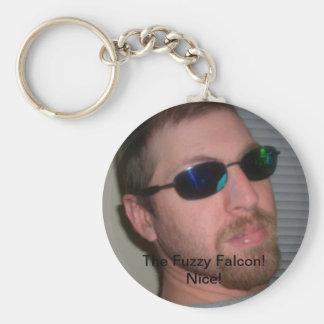 The Fuzzy Falcon Keychain