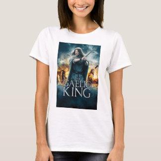 The Gaelic King - White Poster T-Shirt (Womens)