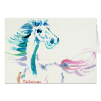 The Galloping Horse Greeting and Note Cards