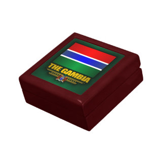 The Gambia Flag Gift Box