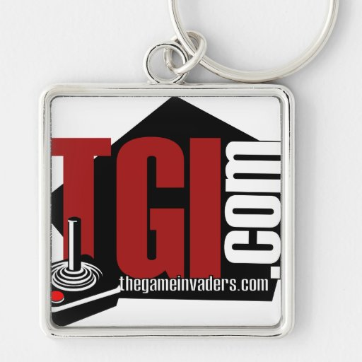 The Game Invaders merchandise Key Chains