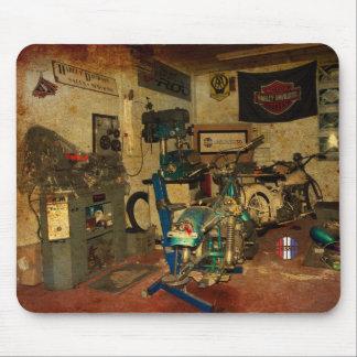 The garage workshop mousemat
