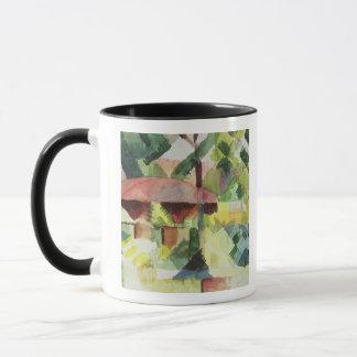 The Garden, 1914 (w/c on paper) Mug