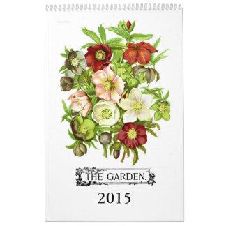 The Garden 2015 Wall Calendar
