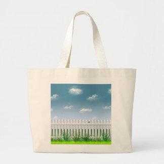 The Garden Fence Canvas Bag