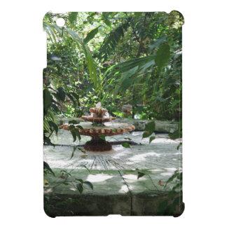 The Garden Fountain iPad Mini Cover
