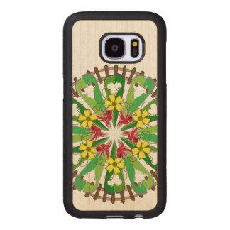 The Garden Illustration Wood Samsung Galaxy S7 Case