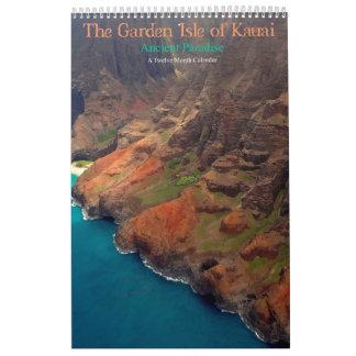 The Garden Isle of Kauai Ancient Paradise Calendars