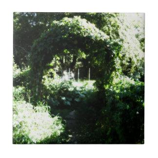 The Garden ~ Nature Ensemble Small Square Tile