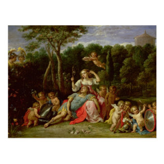 The Garden of Armida Postcard