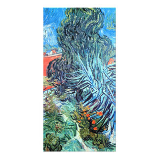 The garden of Dr. Gachet by Vincent van Gogh Custom Photo Card