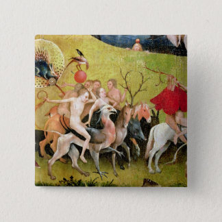 The Garden of Earthly Delights: Allegory of 15 Cm Square Badge