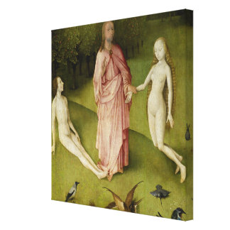 The Garden of Earthly Delights, Fifteenth Century Canvas Print