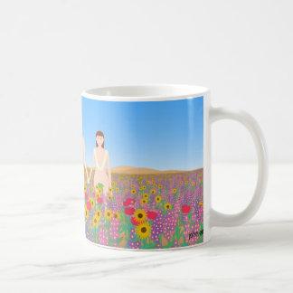 the garden of eden basic white mug