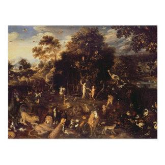 The Garden of Eden Postcard
