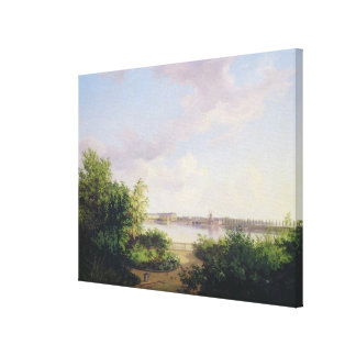 The Garden of Johannes Amsinck Stretched Canvas Print