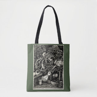 The Garden of Madness by Brian Benson Tote Bag