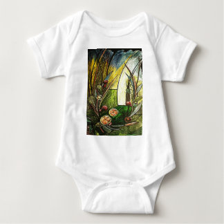 The GARDEN OF the EDEN_result.JPG Baby Bodysuit