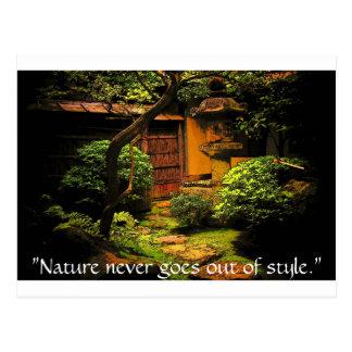 The Garden of Wisdom Postcard
