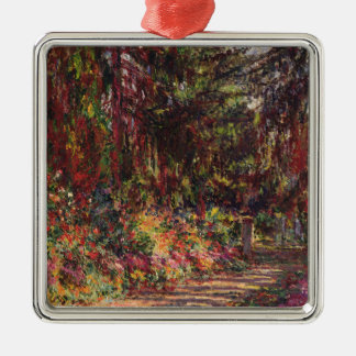 The Garden Path at Giverny Metal Ornament