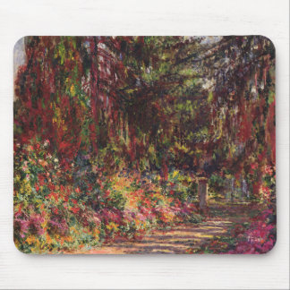 The Garden Path at Giverny Mouse Pad