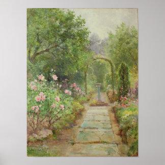 The Garden Path Poster