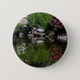 The Garden Pond 6 Cm Round Badge