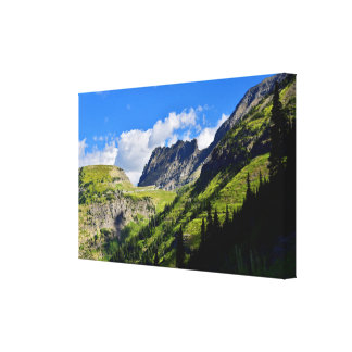 The Garden Wall in Glacier National Park Canvas Print