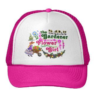 The Gardener Flower Girl Trucker Hat! Cap