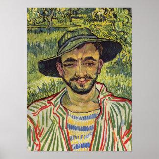 The Gardener - Vincent Van Gogh Poster