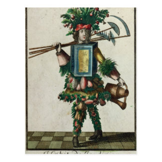 The Gardener's Costume Postcard